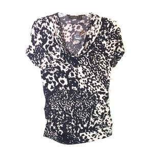 The limited cowl neck  blouse size Small
